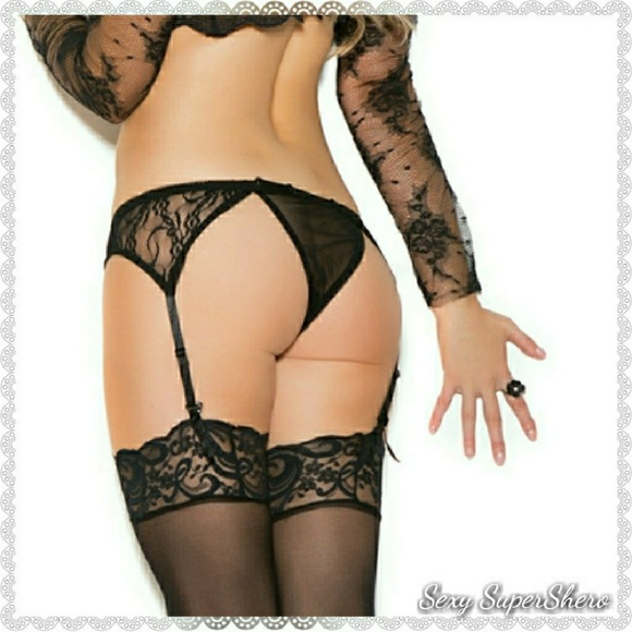 4274d2c299d78 Sexy SuperShero Intimates & Sleepwear | Sexy Lace Garter Belt ...